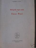 Bibliografia degli scritti di Enzo Paci