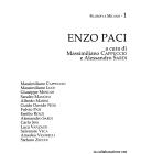 A trent'anni dalla scomparsa di Enzo Paci